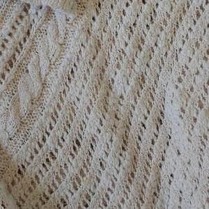 DownEast Sweaters - Cream sweater